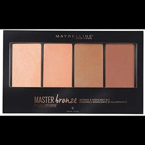 maybelline master bronze and highlight kit - 10